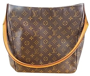 Louis Vuitton Looping Gm Gm Momogram Shoulder Bag