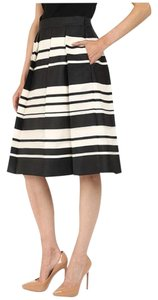 Kate Spade Skirt Black Cream