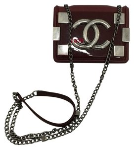 Chanel Ruthenium Cross Body Bag