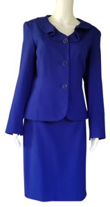 John Meyer of Norwich JOHN MEYER Royal Blue Career Skirt Suit 8