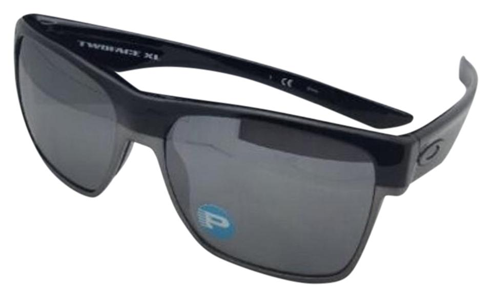 Oakley Polarized OAKLEY Sunglasses TWOFACE XL OO9350-01 Black w Black  Iridium ... d43de50c7d68b