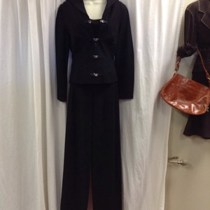 Charles Chang Lima Charles Chang Lima Vintage 3 pc. Pant Suit with Leather Trim Size 6/8
