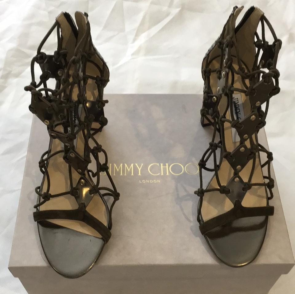Jimmy Choo Made Black London Made Choo In Italy Sandals a3c34d