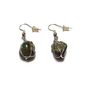 Other Earrings with Agate
