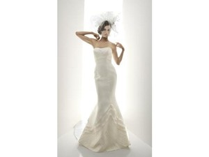 Matthew Christopher Moet Wedding Dress