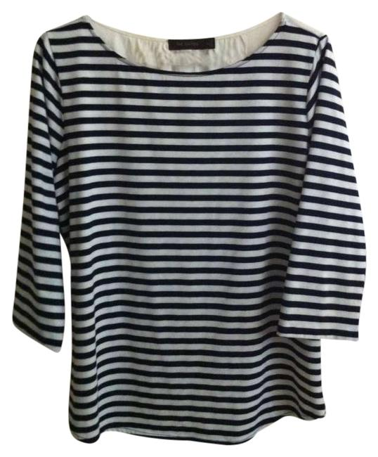 Preload https://item4.tradesy.com/images/the-limited-navy-blue-and-white-tee-shirt-size-16-xl-plus-0x-196483-0-0.jpg?width=400&height=650
