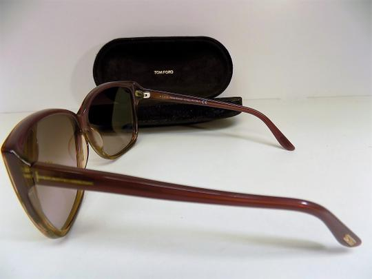 Tom Ford Purple Sunglasses with Case