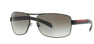 Prada Prada Sport SPS54I Sunglasses PS54I Black 7AX0A7 Authentic