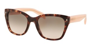 Prada Prada SPR09S Sunglasses PR09S Brown Pink UE04K0 Authentic