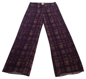 Haute Hippie Wide Leg Pants Brown