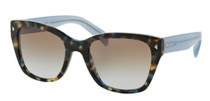 Prada Prada SPR09S Sunglasses PR09S Brown Blue UE14S2 Authentic
