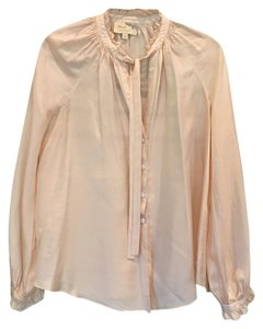 Elizabeth and James Button Down Shirt Dusty rose