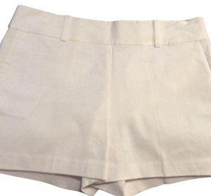 Ann Taylor Mini/Short Shorts White