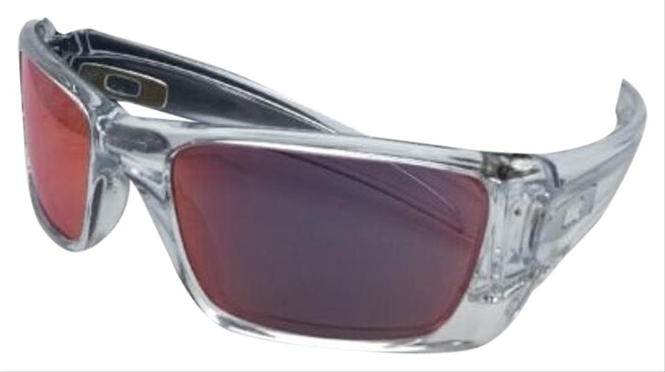 4d07231532ea Oakley OAKLEY Sunglasses FUEL CELL OO9096-H660 Polished Clear w/Torch  Iridium Image 0 ...