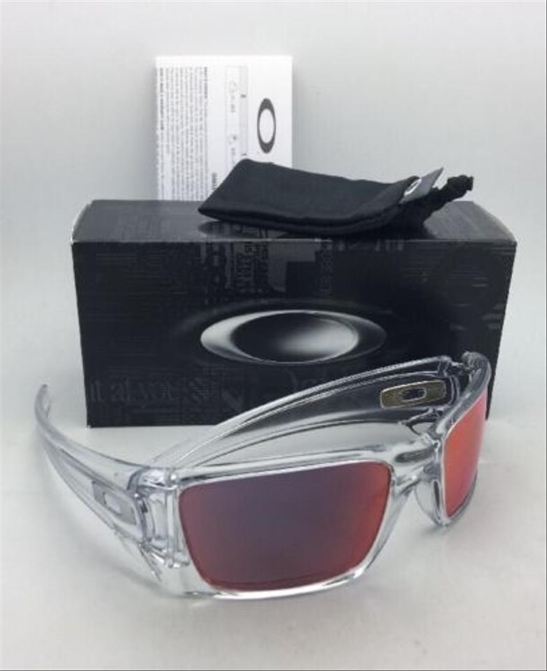 fa407c48fb Oakley OAKLEY Sunglasses FUEL CELL OO9096-H660 Polished Clear w Torch  Iridium Image 6. 1234567
