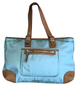 Coach Nylon Tote in Blue