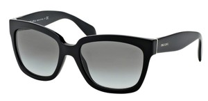 Prada Prada SPR07P Sunglasses PR07PS Black 1AB0A7 Authentic