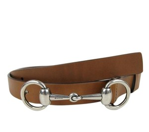 Gucci GUCCI Mens Leather Belt Horsebit Buckle 281794 bgh0n Brown 2535 105/42