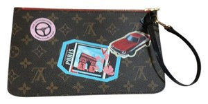 Louis Vuitton Limited Edition World Tour Wristlet in Red