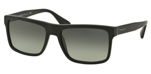 Prada Prada SPR01S Sunglasses PR01S Matt Black SL32D0 Authentic