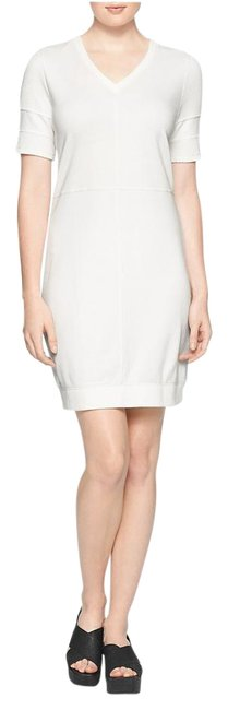 Preload https://item4.tradesy.com/images/calvin-klein-white-v-neck-sleeve-cotton-above-knee-short-casual-dress-size-8-m-19649478-0-2.jpg?width=400&height=650