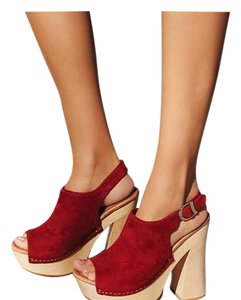 Jeffrey Campbell Red Platforms
