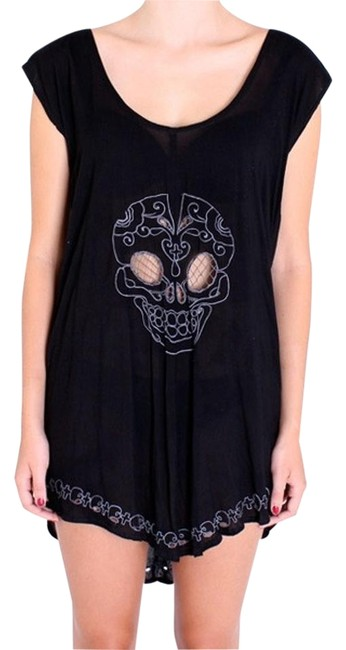 Preload https://img-static.tradesy.com/item/19649570/one-teaspoon-black-skulls-embroidered-boneyard-blk-new-mini-short-casual-dress-size-10-m-0-1-650-650.jpg
