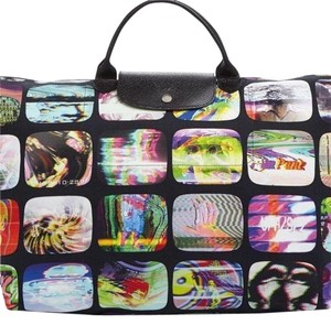 Jeremy Scott Multi Color/Black Travel Bag