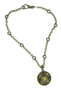 John Hardy John Hardy Ladies necklace in 22 karat gold & sterling silver 16 inche
