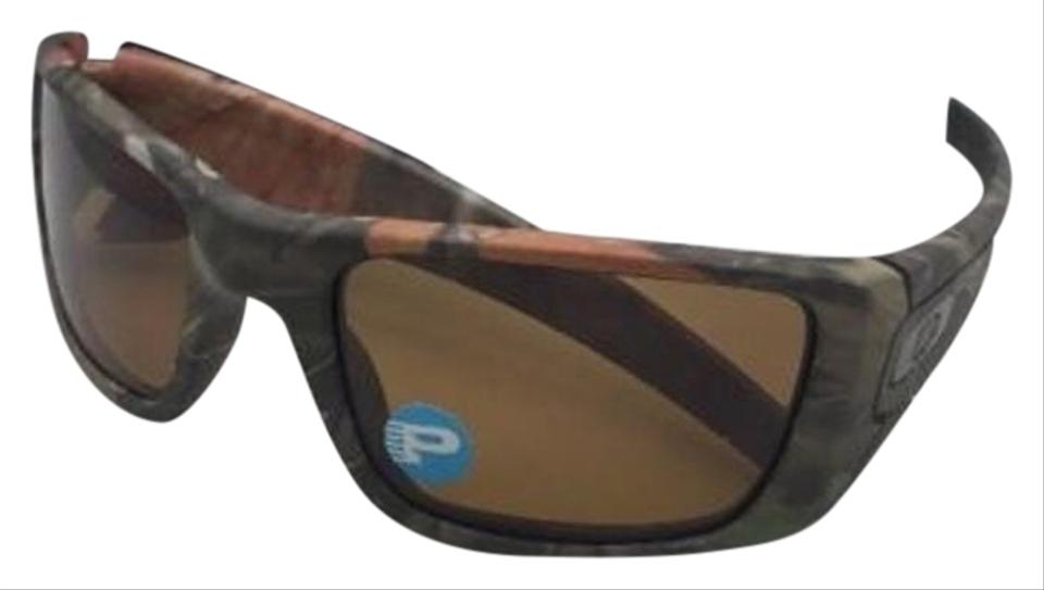 b4a68335ad Oakley Polarized OAKLEY Sunglasses FUEL CELL OO9096-D9 WoodLand Camo  w Bronze Image 0 ...