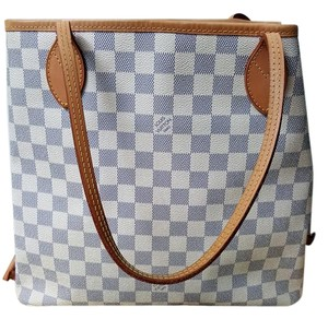 Louis Vuitton Neverfull Mm Damier Cross Body Bag