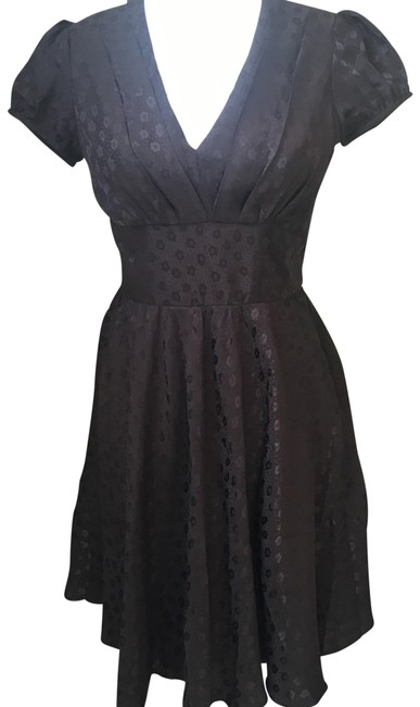 Preload https://item1.tradesy.com/images/betsey-johnson-black-knee-length-cocktail-dress-size-6-s-19649640-0-3.jpg?width=400&height=650