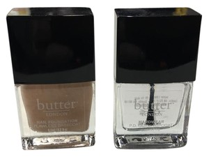 butter London butter London Nail Foundation and Hardwear Topcoat Minis