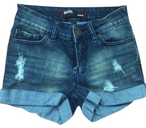 BDG Cuffed Shorts Blue