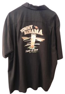 Tommy Bahama Top Black