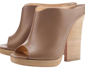 Christian Louboutin Taupe Mules