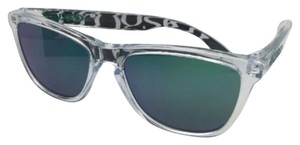 Oakley OAKLEY FROGSKINS Sunglasses OO9013-A3 Polished Clear w/ Jade Iridium