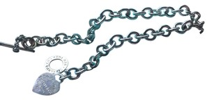 Tiffany & Co. Choker, Heart, Chain, Necklace