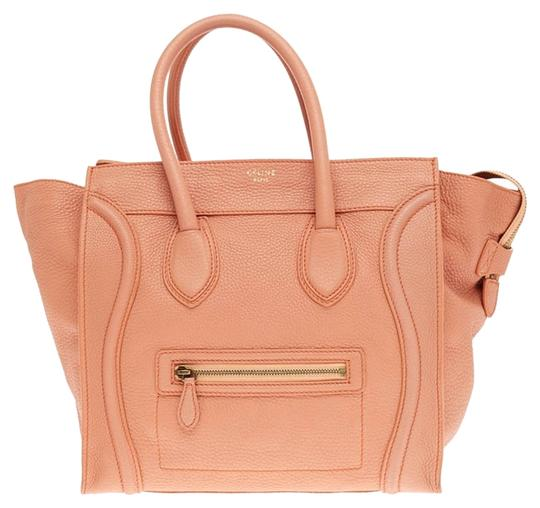 Preload https://item3.tradesy.com/images/celine-luggage-grainy-mini-salmon-leather-tote-1965042-0-0.jpg?width=440&height=440