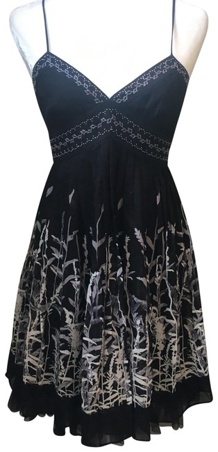Preload https://img-static.tradesy.com/item/19650693/bcbgmaxazria-black-print-above-knee-cocktail-dress-size-2-xs-0-3-650-650.jpg