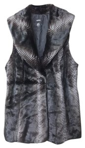 Alfani Fur One-button Vest