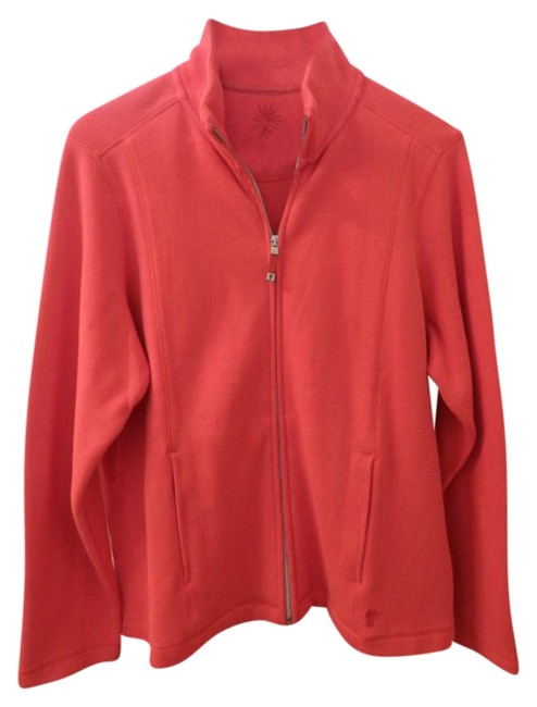 Preload https://item5.tradesy.com/images/tommy-bahama-coral-red-angle-pocket-full-zip-jacket-activewear-size-16-xl-plus-0x-19650779-0-1.jpg?width=400&height=650