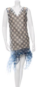 Marc Jacobs Gingham Organza Dress