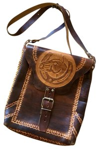 Other Horse Festival Boho Chic Western brown Messenger Bag