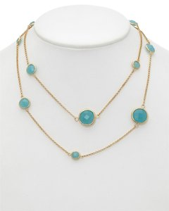 Rivka Friedman Rivka Friedman 18K Clad Quartzite 36in Necklace