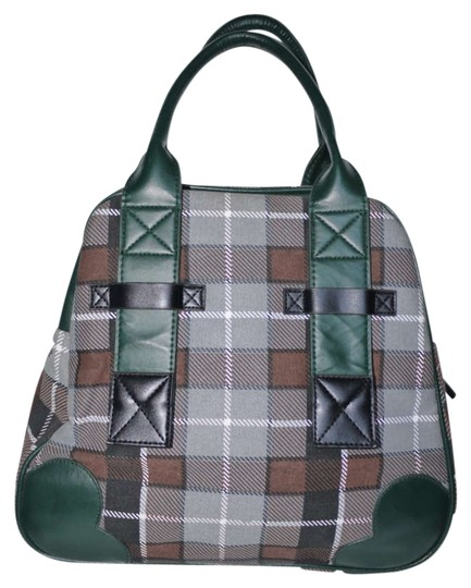 Preload https://img-static.tradesy.com/item/196511/paul-frank-julius-plaid-handbag-greengraybrownblack-canvas-satchel-0-0-540-540.jpg