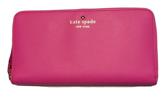 Preload https://item1.tradesy.com/images/kate-spade-new-york-2-park-avenue-sweets-bougainvillea-pink-leather-clutch-19651235-0-0.jpg?width=440&height=440