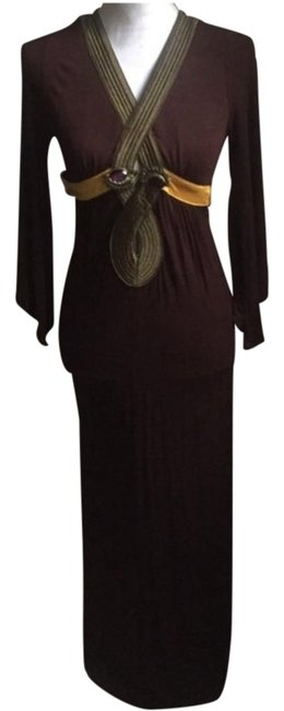 Preload https://img-static.tradesy.com/item/19651326/brown-long-casual-maxi-dress-size-4-s-0-1-650-650.jpg