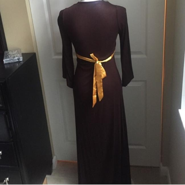 Brown Maxi Dress by Love & Love
