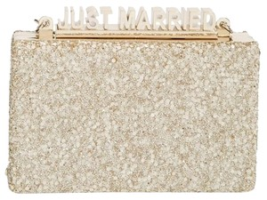 Kate Spade Bridal Light Gold Clutch